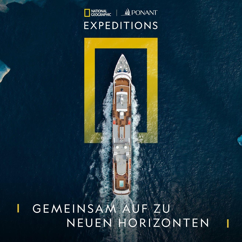 PONANT und National Geographic Expeditions machen gemeinsame Sache