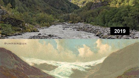 Galerie: Gletscherschmelze in Europa: Die Vorher-Nachher-Bilder des Klimawandels von 1880 bis heute