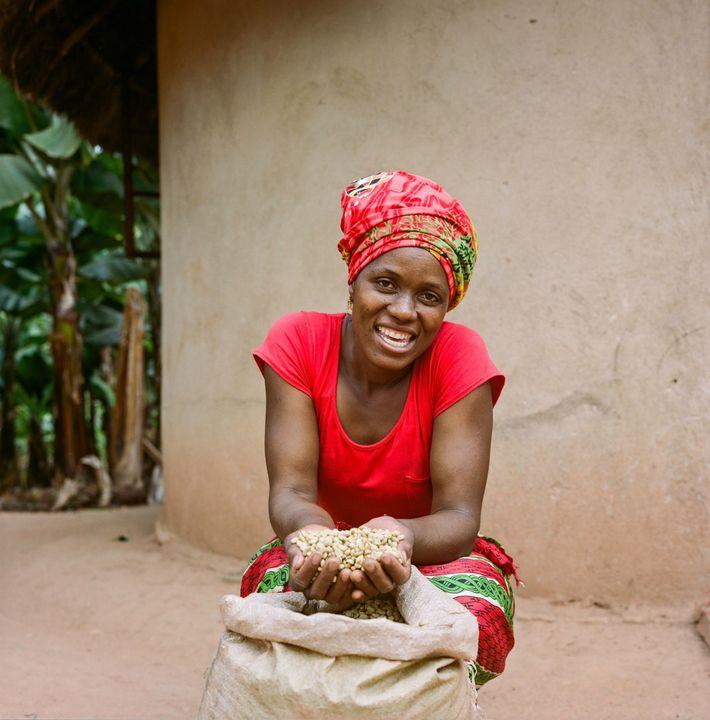 Jesca Kangai, 35, lebt im Dorf Pangeti im Distrikt Mutasa im östlichen Hochland von Simbabwe. Sie ...