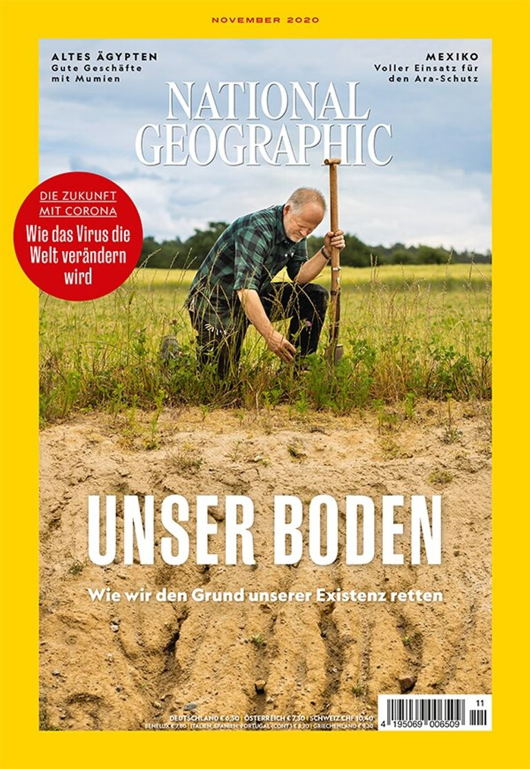 National Geographic-Magazin November 2020, Titelthema: Boden