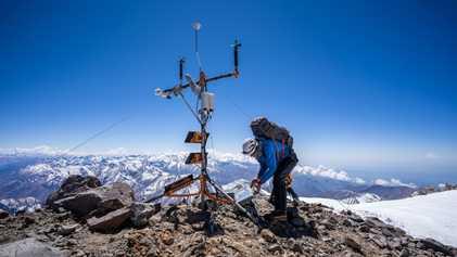 Höchste Wetterstation in den Anden soll Klimaantworten liefern