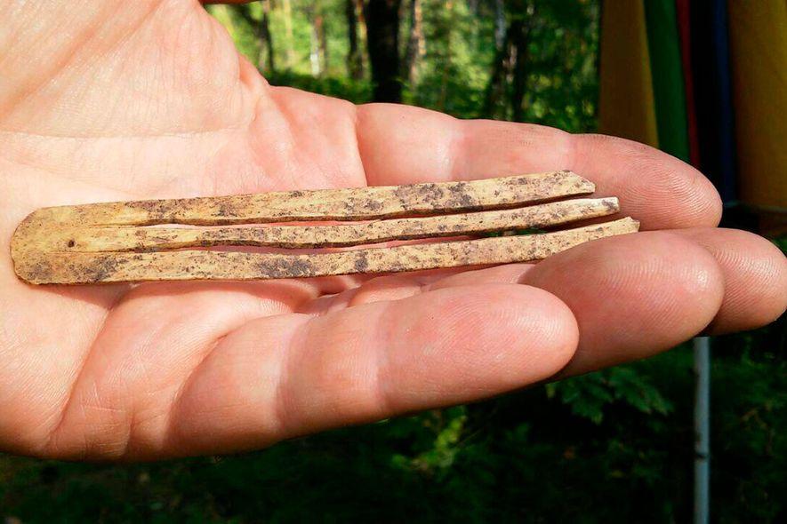 1.700 Jahres altes Musikinstrument entdeckt – und es funktioniert