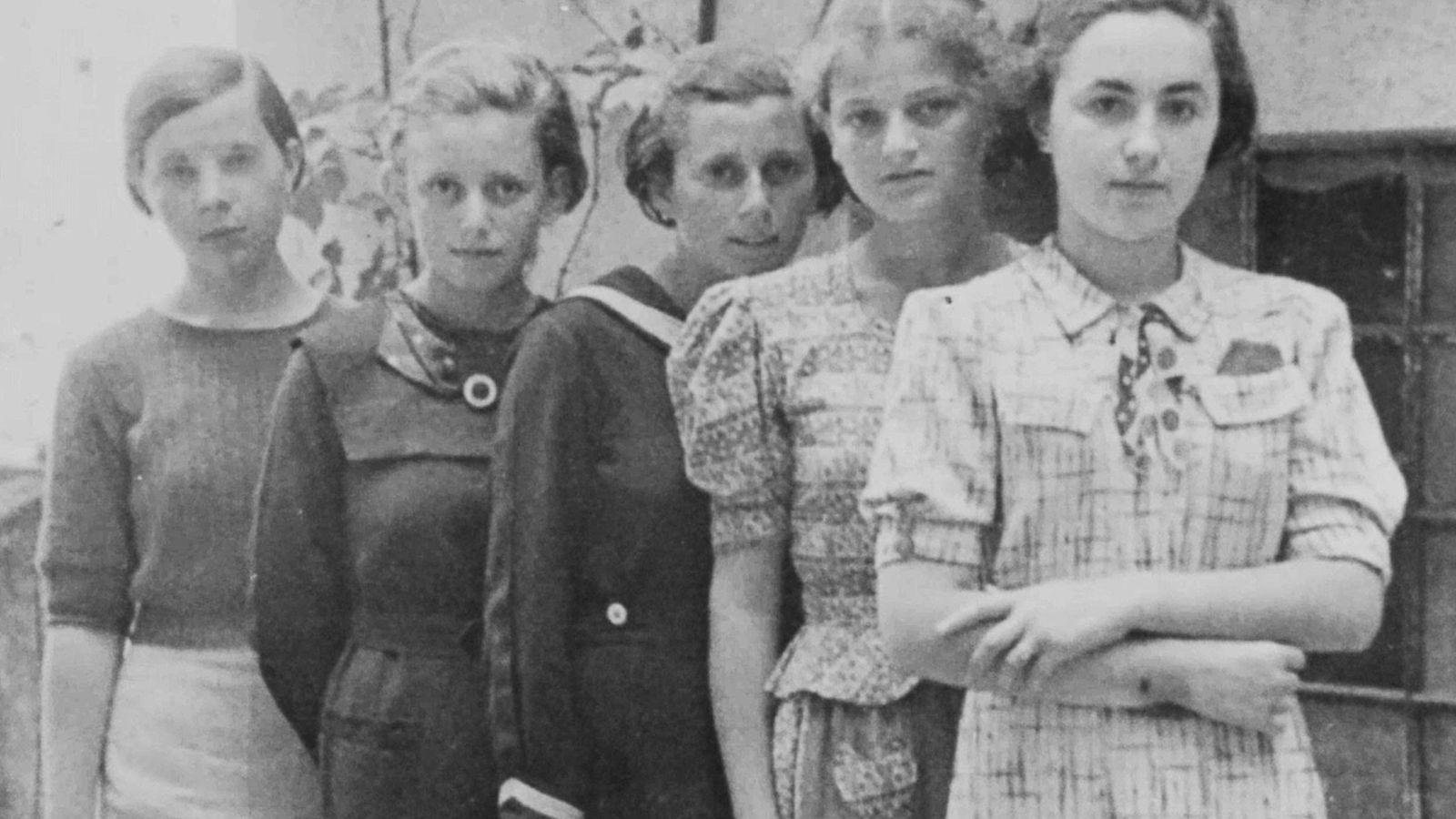 Mädchen im slowakischen Humenné
