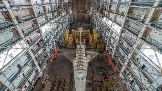 Russisches Space Shuttle