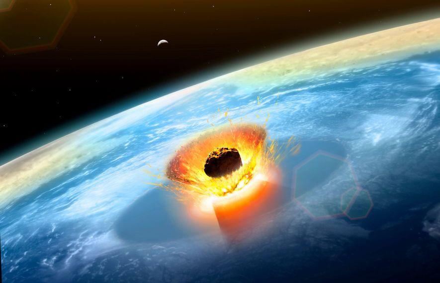 Asteroid schlug genau an der richtigen Stelle ein, um Dinosauriersterben auszulösen