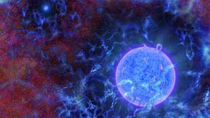 Spuren der ersten Sterne des Universums entdeckt