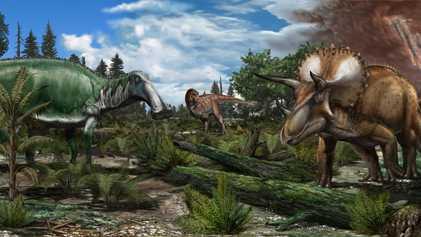 Hätten die Dinosaurier ohne den Asteroiden überlebt?