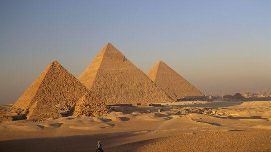Im November 2017 entdeckte man einen geheimnisvollen Hohlraum in der Cheops-Pyramide.