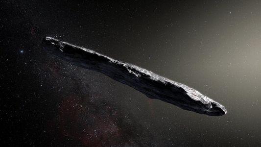 Besucher aus fremdem Sonnensystem mit isolierender Schicht überzogen