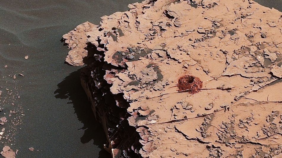 Curiosity entdeckt Bausteine des Lebens auf dem Mars