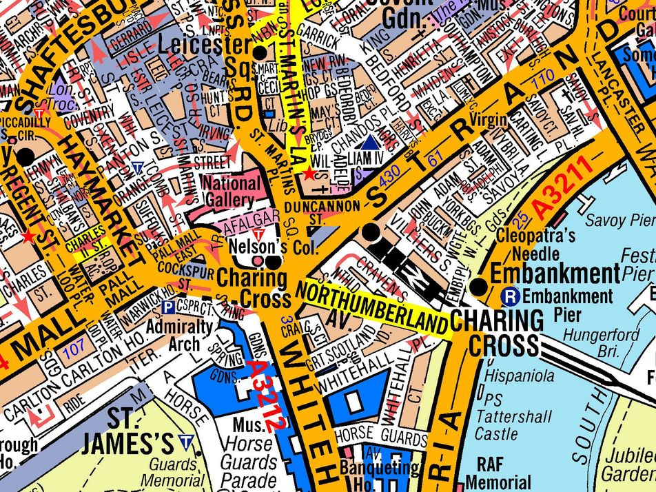 Die Geheimwaffe der Taxifahrer im Labyrinth von Londons alten Straßen