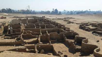 "Archäologen entdecken ""verlorene Goldene Stadt"" in Ägypten"