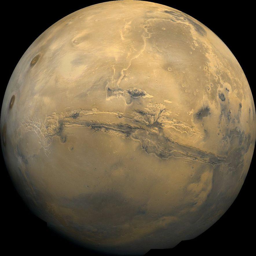Menschen zum Mars schicken? Eine Mars-Raumstation könnte der erste Schritt sein.