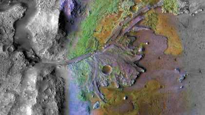 Die Flüsse des Mars flossen noch länger als gedacht