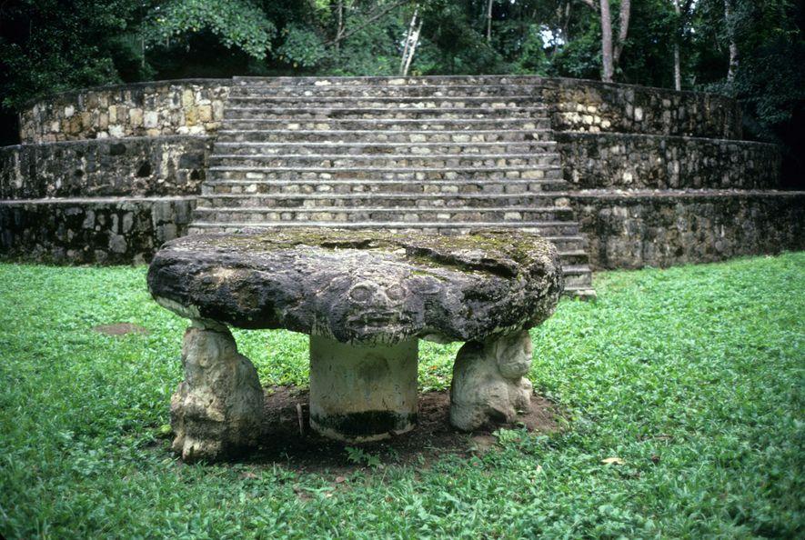 Maya handelten Tiere für Zeremonien schon vor 2.400 Jahren