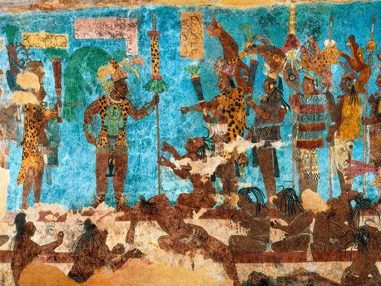 Laserscans offenbaren Kriegsruinen der Maya