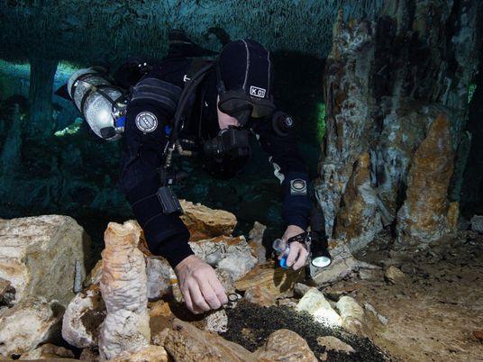 Bergbau vor 11.000 Jahren: Abstieg ins Dunkel für heiligen Ocker