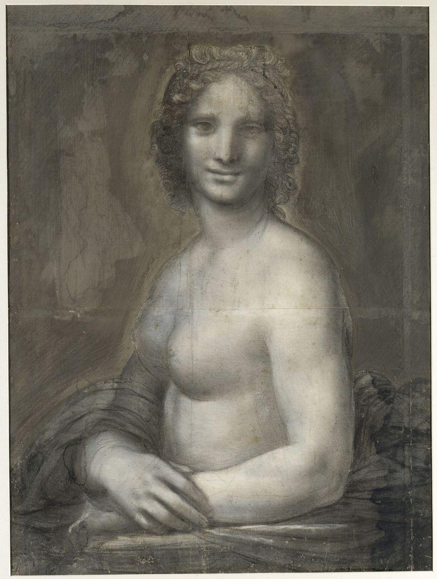 nackte Mona Lisa