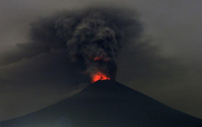 Ausbruch des Agung