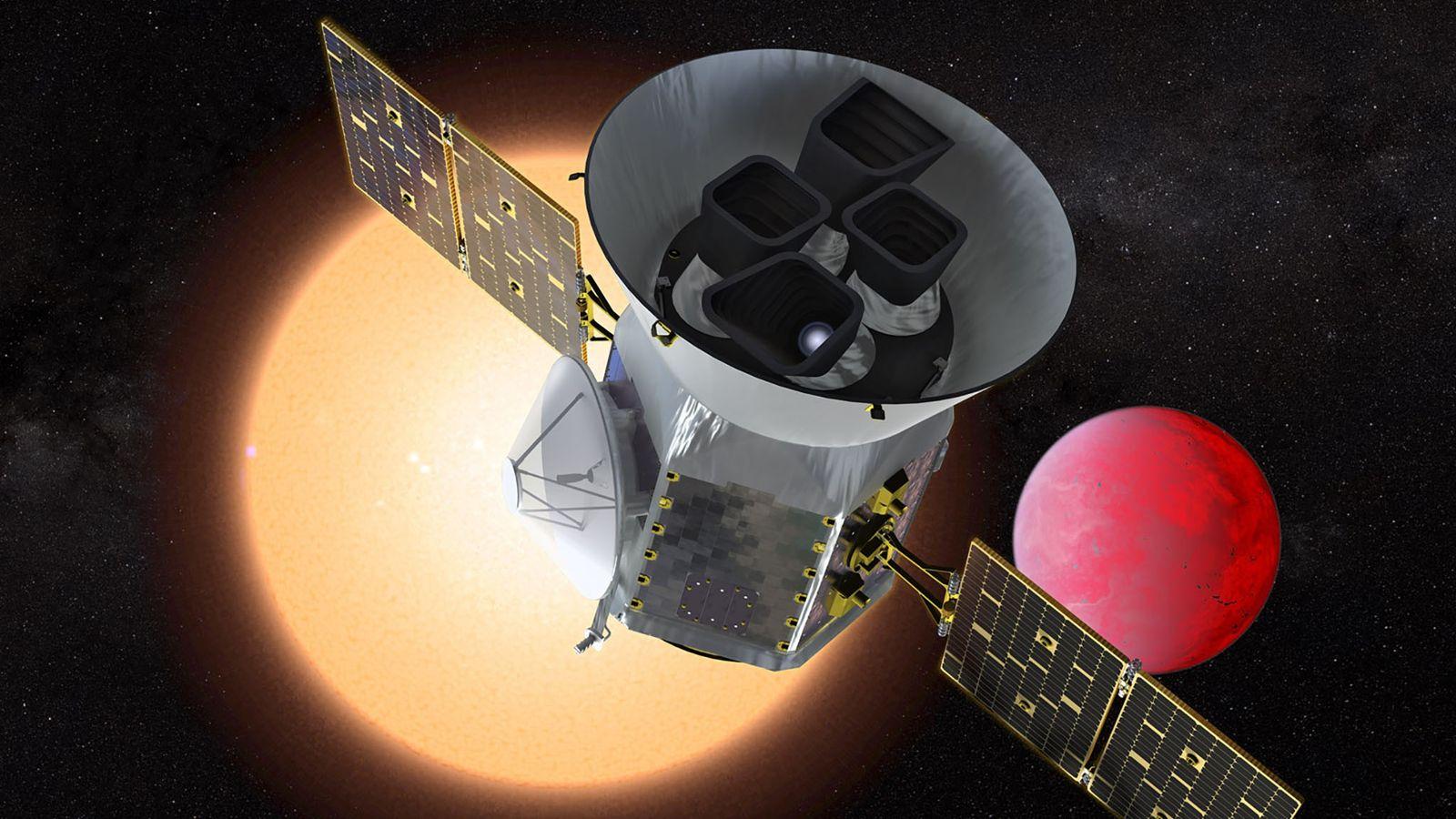 """Transiting Exoplanet Survey Satellite """"TESS"""""""