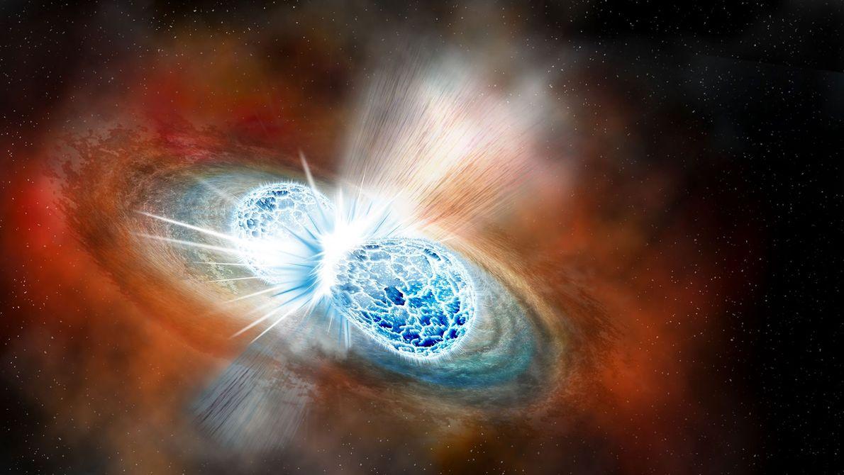 Neutronenstern Vereinigung