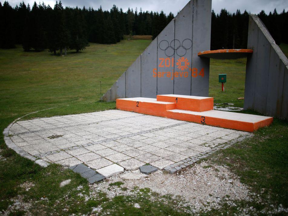 Galerie: Ein Blick in die vergessenen Olympiastadien