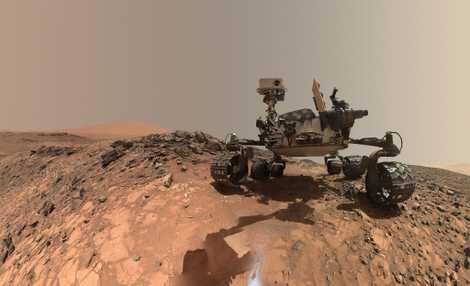Sauerstoff auf dem Mars gibt Forschern Rätsel auf