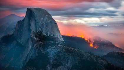 Atemberaubende Aufnahmen der gewaltigen Waldbrände Kaliforniens