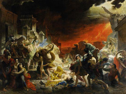 Verdampften die Opfer von Pompeji beim Vulkanausbruch?