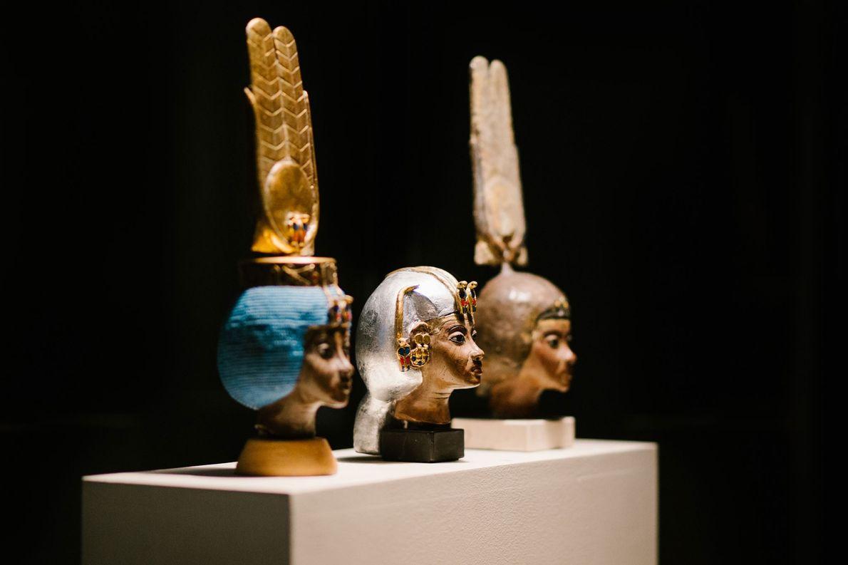 Artefakte zu Ehren Ägyptens mächtiger Herrscherinnen