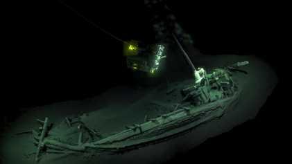Sauerstoffmangel konservierte 2.400 Jahre altes Schiffswrack