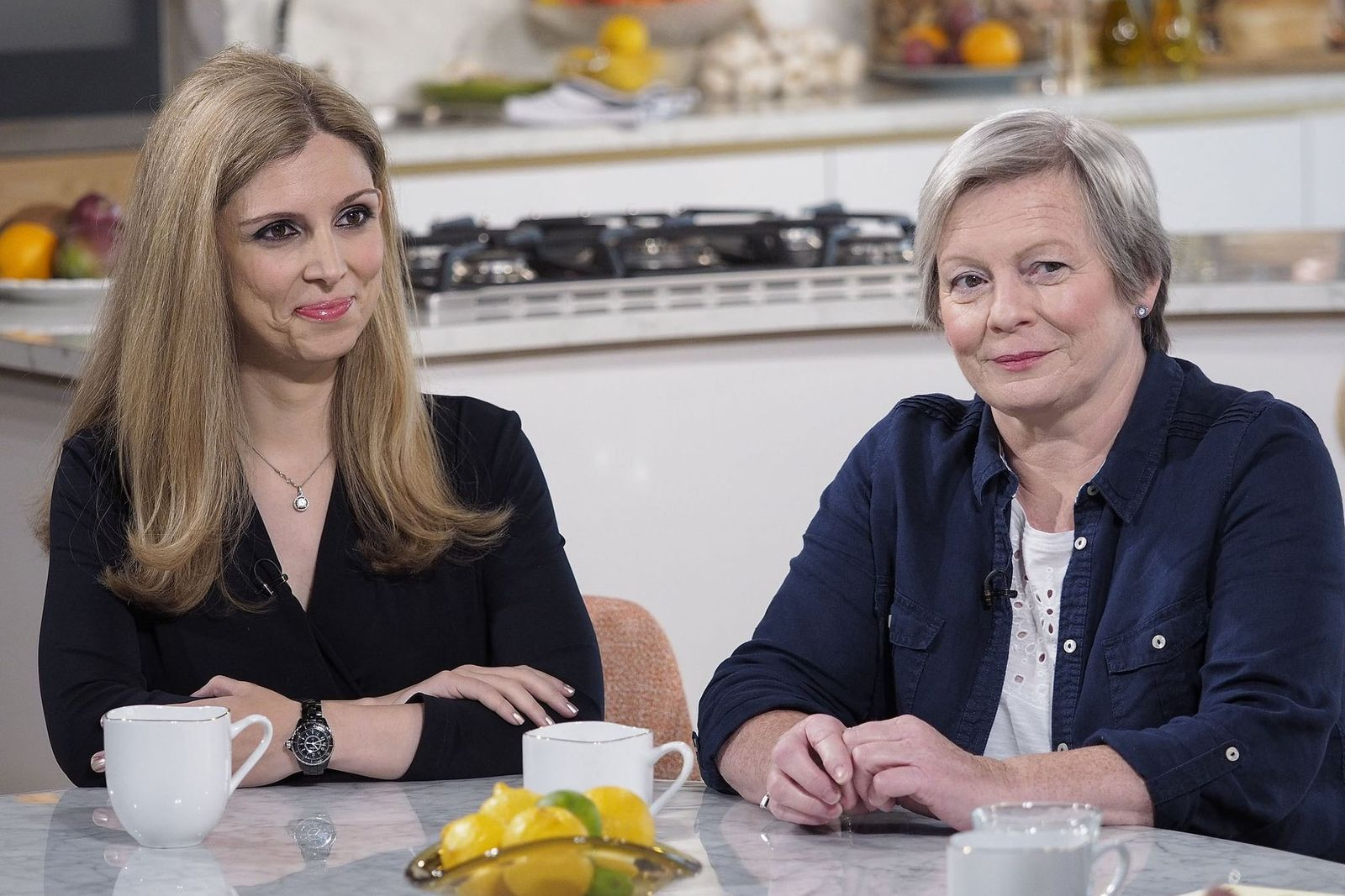 Joy Milne (rechts) hat Parkinsonpatienten bei einem Test einzig an ihrem Geruch erkannt.