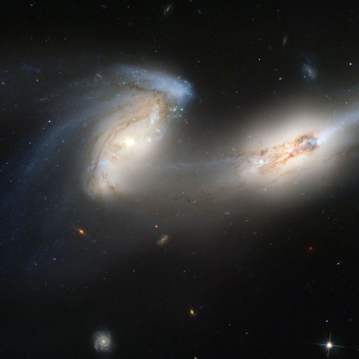 Zwei Galaxien
