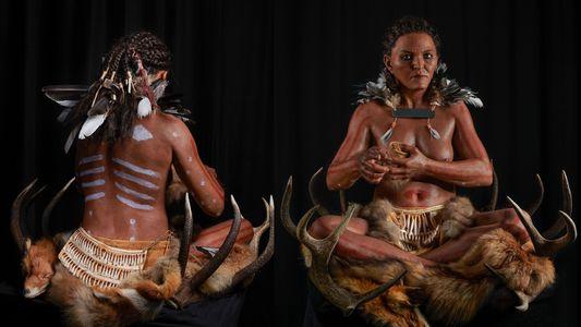"""Exklusiv: 7.000 Jahre alte """"Schamanin"""" zählte zu Schwedens letzten Jägern und Sammlern"""
