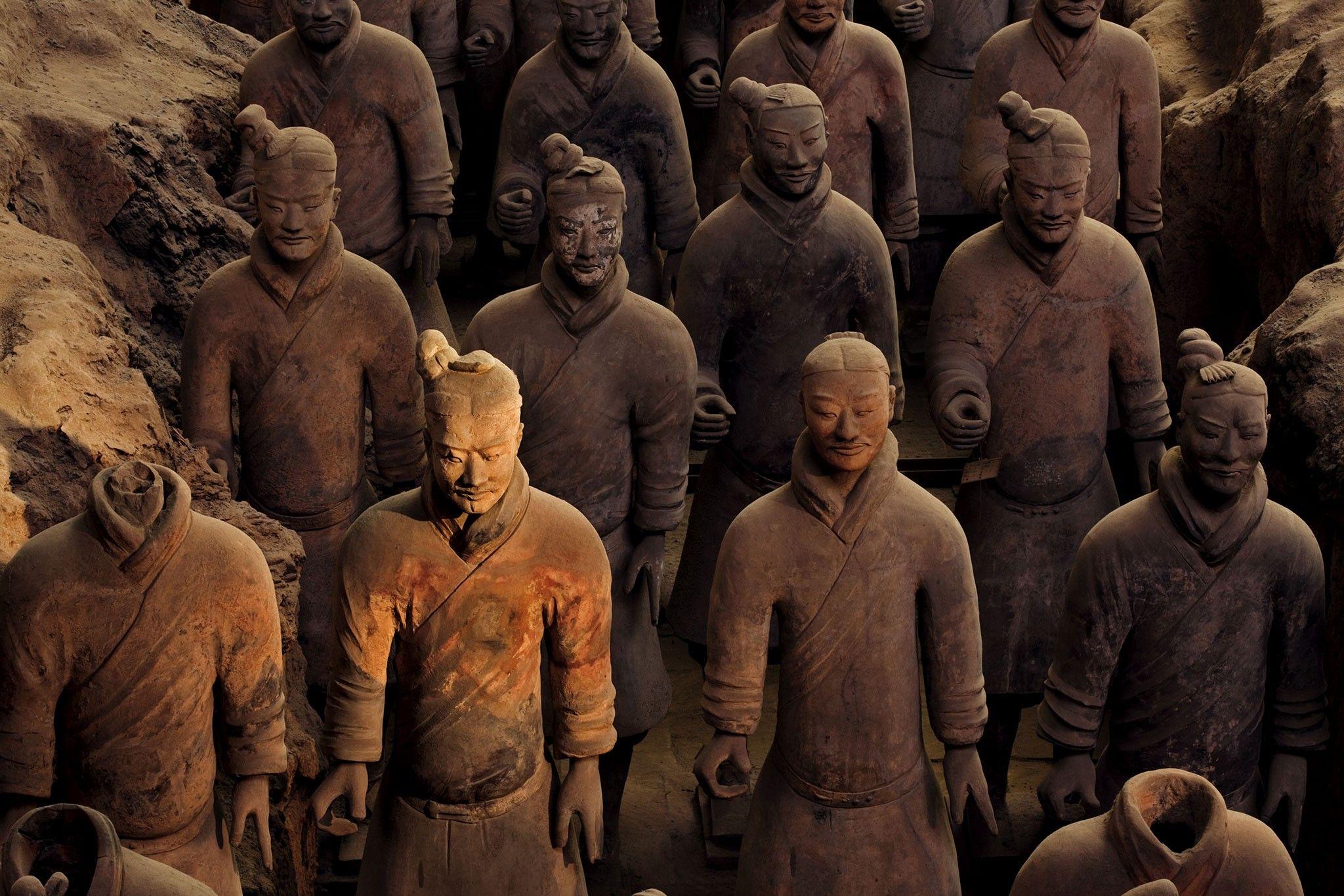 Qin-Dynastie: Theorie zu Chromwaffen-Technologie widerlegt | National Geographic