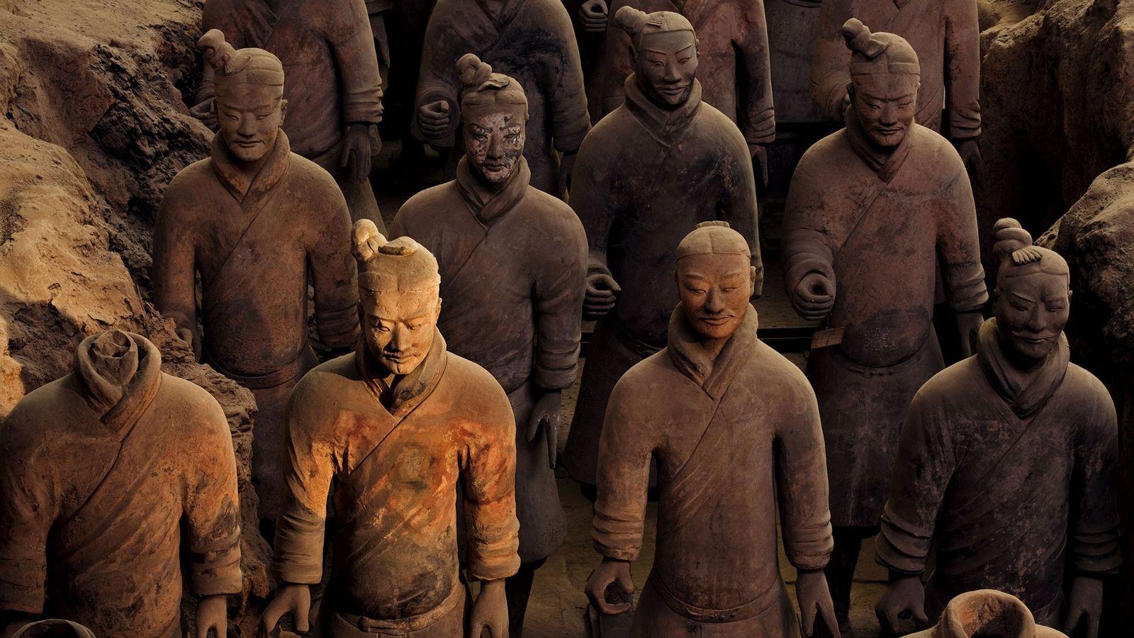 Die Terrakottaarmee wurde erschaffen, um dem ersten Kaiser Chinas im Nachleben zu dienen.