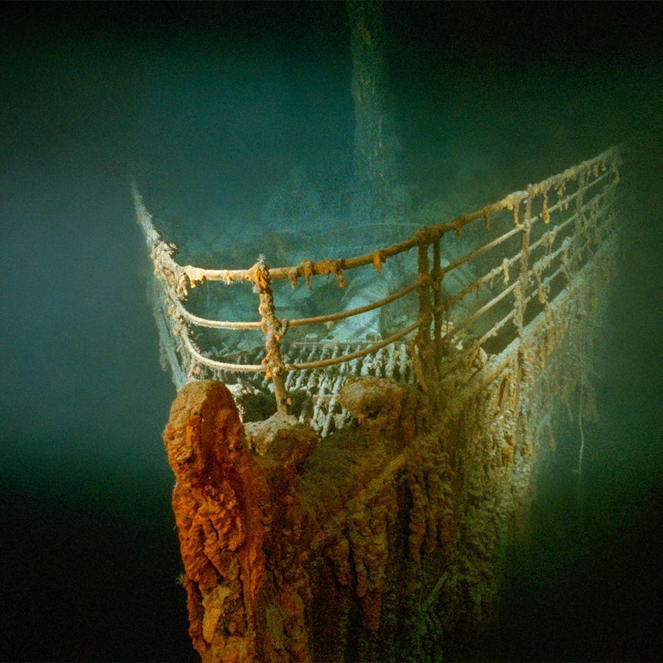 Galerie: Das Wrack der Titanic
