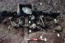 Überreste vom Großen Heidnischen Heer