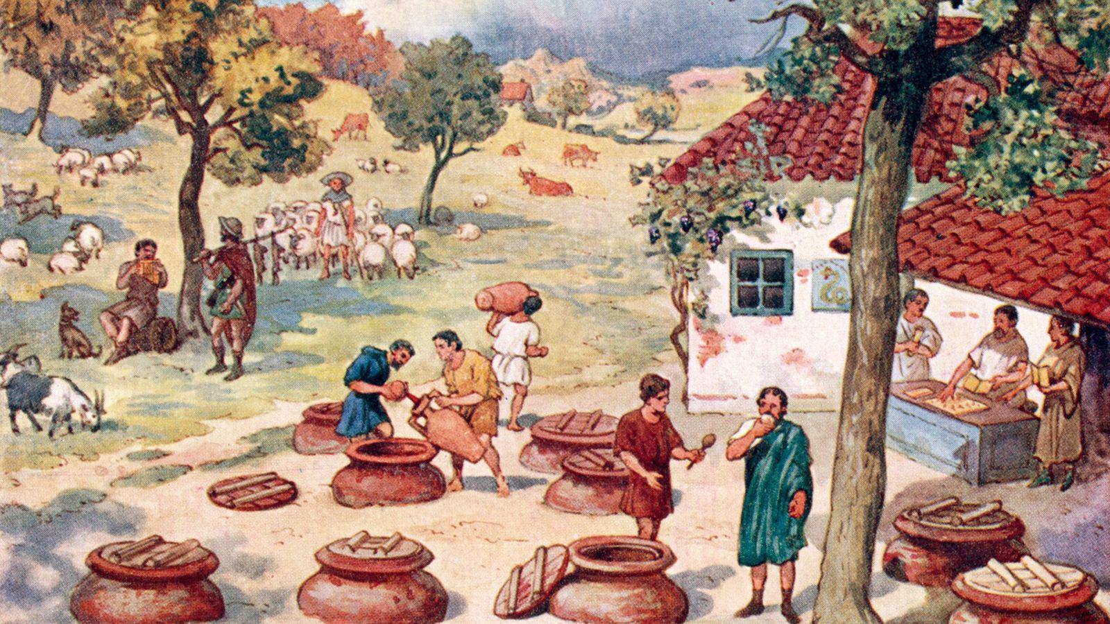 In ganz Europa führen Winzer seit Jahrhunderten sorgfältige Aufzeichnungen. Heutzutage werden die Weintrauben Wochen früher reif ...