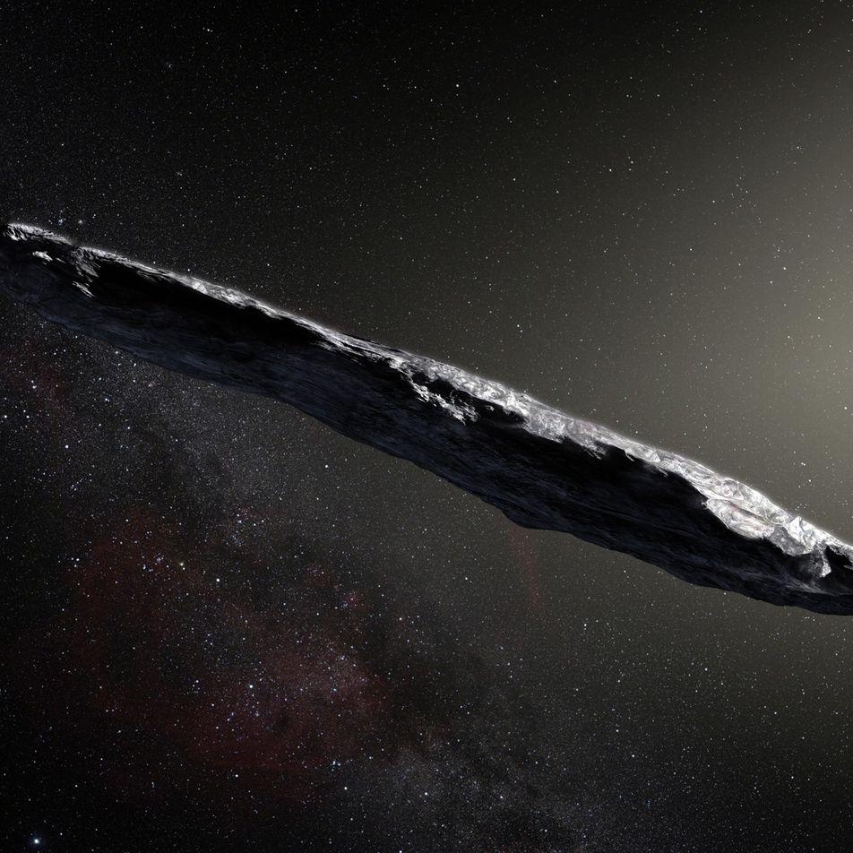 'Oumuamua: Interstellarer Besucher könnte Planetensplitter sein