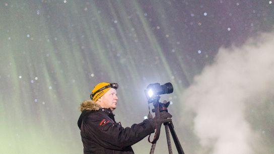 Der Aurorajäger Gaukur Hjartarson