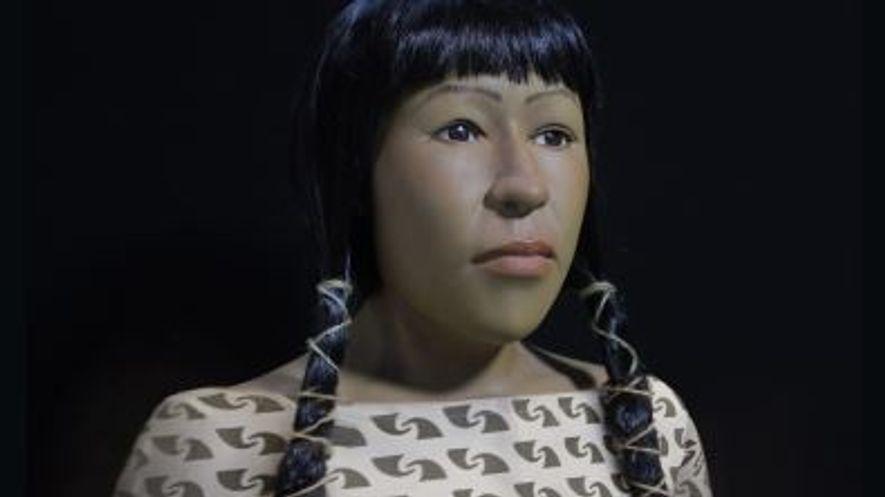 Kriminaltechnik erweckt das Gesicht einer Mumie zu neuem Leben
