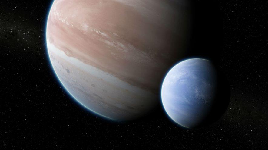 Dies könnte der erste Mond außerhalb unseres Sonnensystems sein