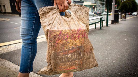 Tüten aus Biokunststoff funktionieren noch nach 3 Jahren im Boden