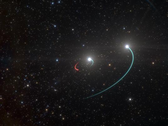 Kosmische Überraschung: Schwarzes Loch nur 1.000 Lichtjahre entfernt