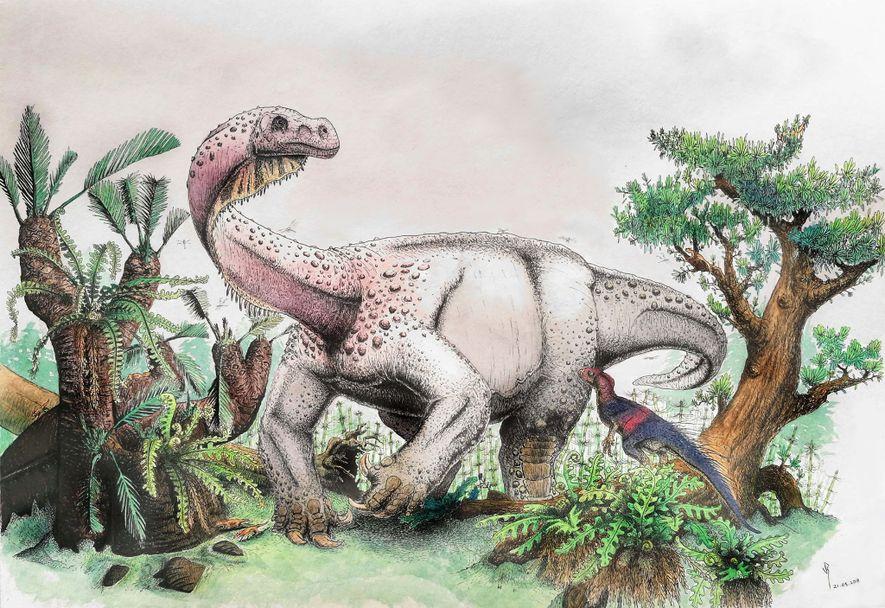 Evolutionstest: 12-Tonnen-Dino mit Katzengang