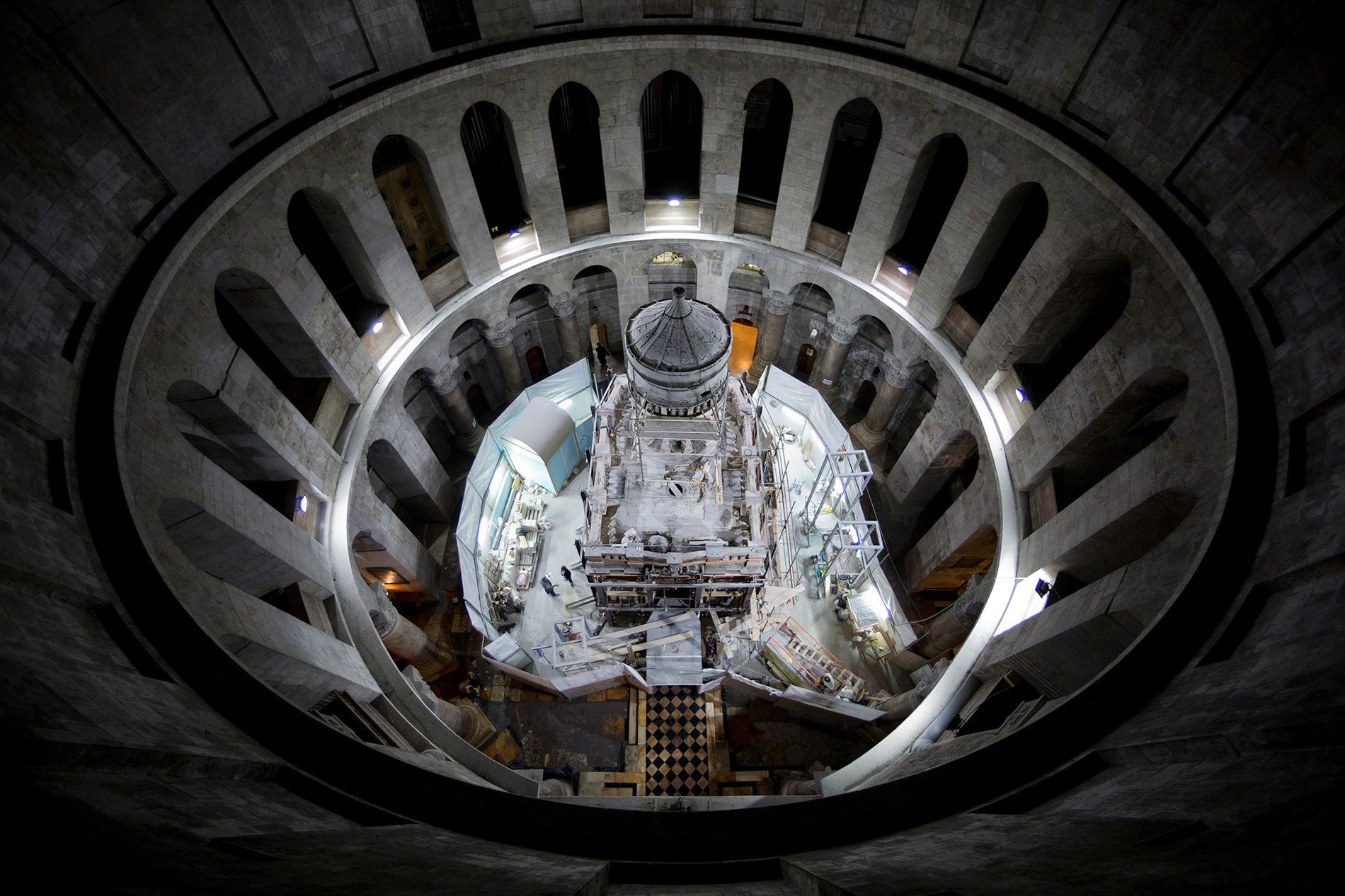 Exklusiv: Grabstätte von Jesus Christus zum ersten Mal seit Jahrhunderten freigelegt