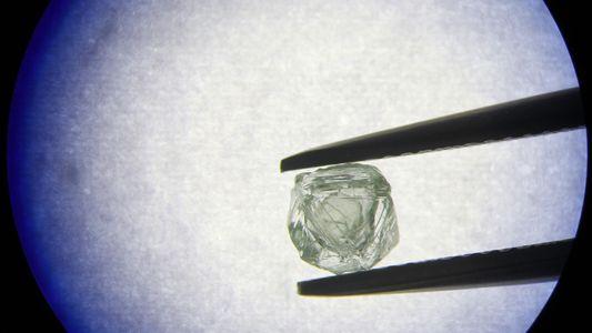 Einzigartiger Mineralfund: Der Diamant im Diamant