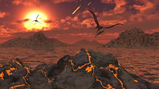 Kreidezeit: Asteroid löst Massensterben aus – und rettet das Klima?