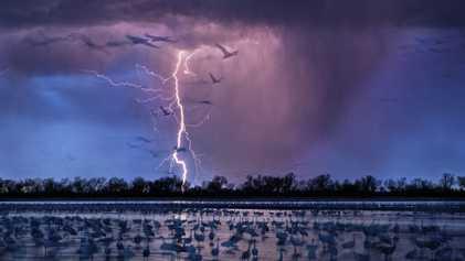 Galerie: 19 elektrisierende Fotos von gewaltigen Stürmen
